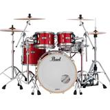 Pearl Masters Complete 16x14 Floortom Inferno Red Sparkle