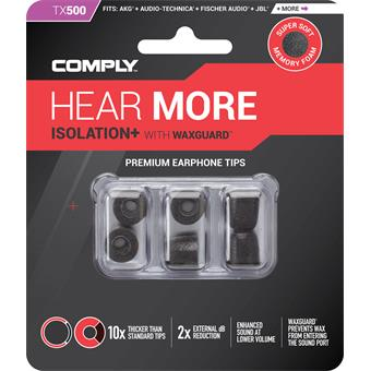 Comply TX-500 Large Black in-ear monitoring