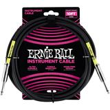Ernie Ball 6048 Jack/Jack 300cm Black
