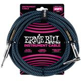 Ernie Ball 6060 Jack/Jack 762cm Black & Blue