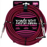 Ernie Ball 6062 Jack/Jack 762cm Black & Red