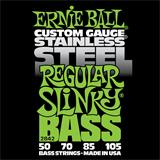 Ernie Ball 2842 Stainless Steel Regular Slinky Bass