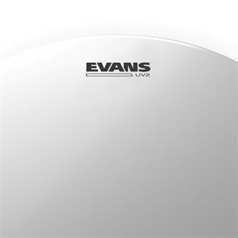 Evans UV2 Coated Drum Head, 18 Inch tomvel