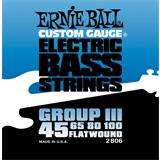 Ernie Ball 2806 Flatwound Bass Group III