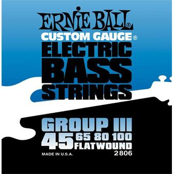 Ernie Ball 2806 Flatwound Bass Group III flatwound bassnarenset