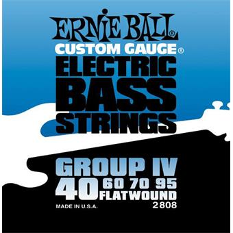 Ernie Ball 2808 Flatwound Bass Group IV flatwound bassnarenset