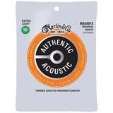 Martin Strings MA500FX Authentic Acoustic Flexible Core 12-String 92/8 Phosphor Bronze Extra Light