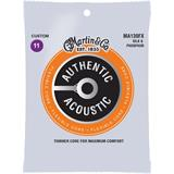 Martin Strings MA130FX Authentic Acoustic Flexible Core Silk & Phosphor Custom