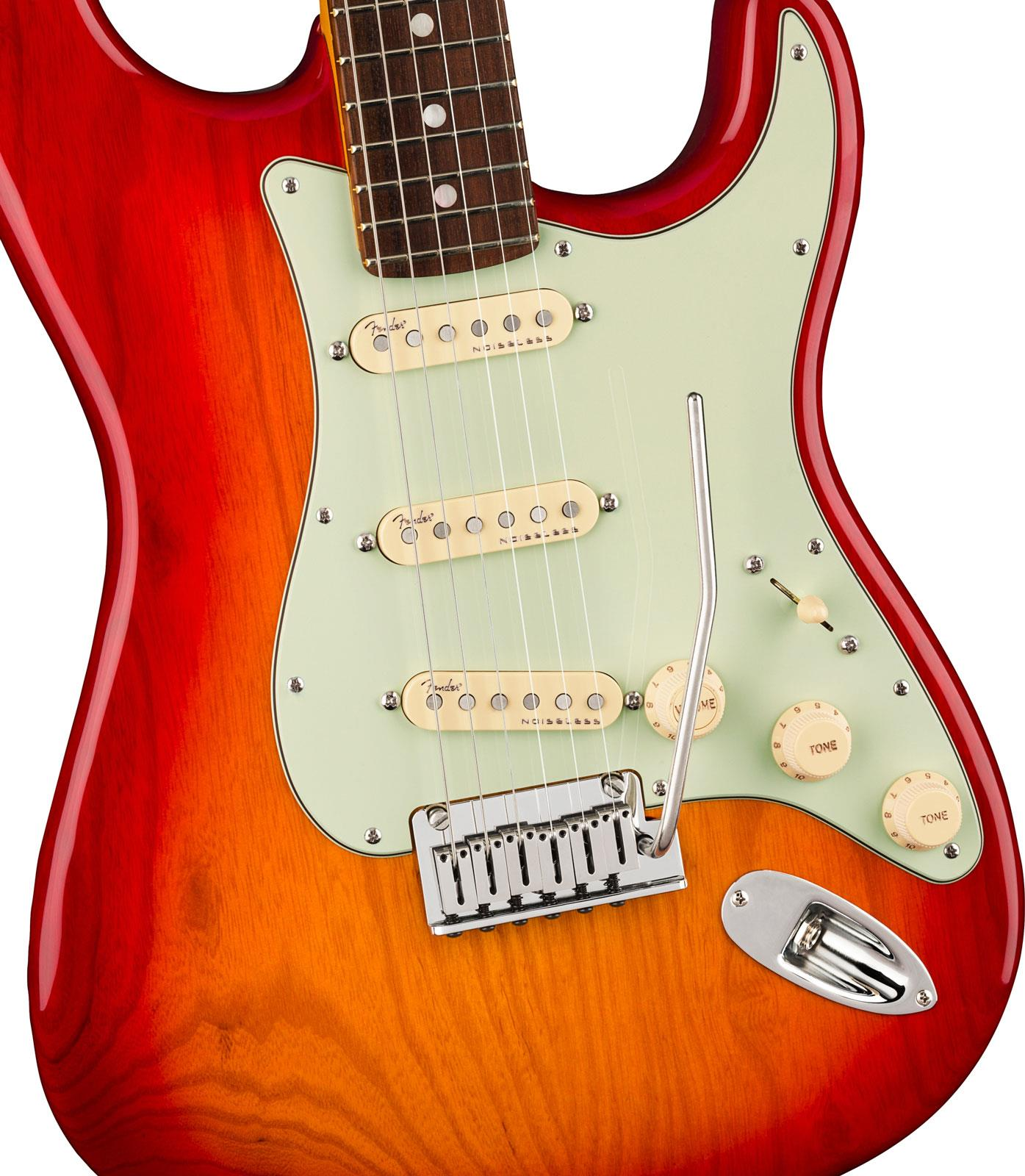 fender american ultra stratocaster rw plasma red burst keymusic. Black Bedroom Furniture Sets. Home Design Ideas