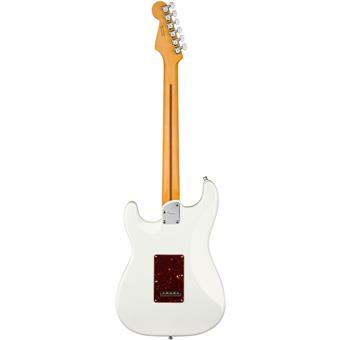 Fender American Ultra Stratocaster RW Arctic Pearl electric guitars