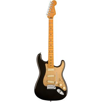 Fender American Ultra Stratocaster MN Texas Tea electric guitars