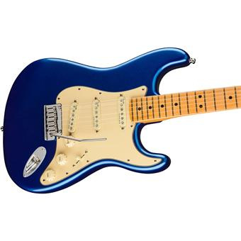 Fender American Ultra Stratocaster MN Cobra Blue electric guitars