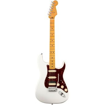 Fender American Ultra Stratocaster HSS MN Arctic Pearl guitare électrique
