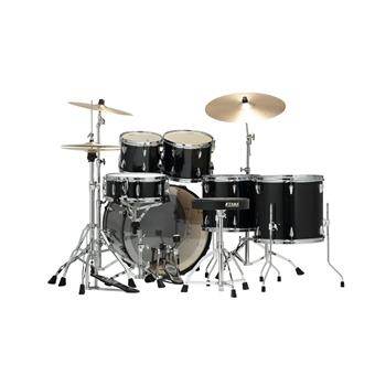 Tama IE62KH6W-HBK Imperialstar Hairline Black starter drum kit