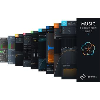 Izotope Music Production Suite 3 audio-/effectplugin
