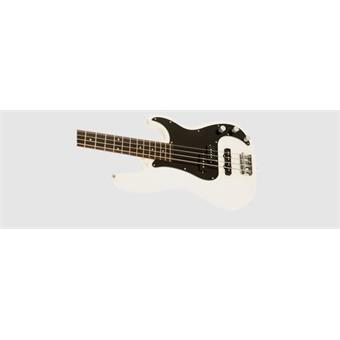 Squier  Affinity Series™ Precision Bass® PJ, Laurel Fingerboard, Olympic White 4 string bass guitar