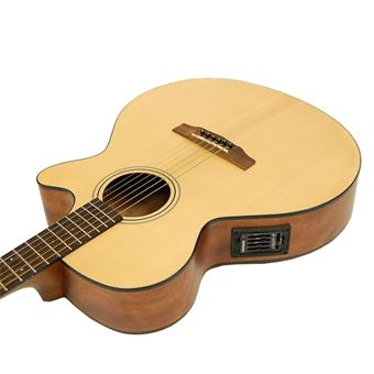 Cort SFX1F NS acoustic-electric cutaway orchestra guitar
