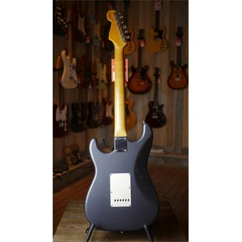 Fender Custom Shop 1959 Journeyman Relic HSS Stratocaster Charcoal Frost Metallic electric guitar