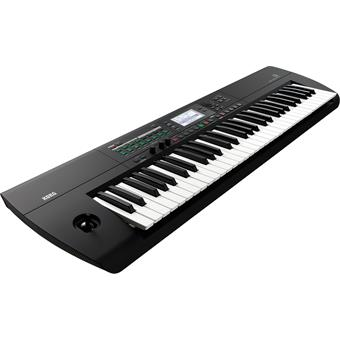 Korg i3 Super Matte Black home keyboard