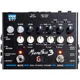 EBS MicroBass III Dual Channel Preamp Pedal