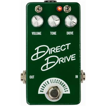 Barber Compact Direct Drive v4 overdrive pedal
