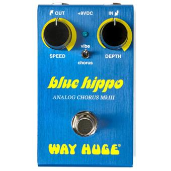 Way Huge WM61 Smalls Blue Hippo Analgo Chorus reverb/chorus/vibrato/tremolo pedaal