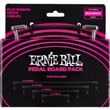 Ernie Ball 6224 Flat Ribbon Patch Cables Multi Pack