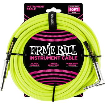 Ernie Ball 6080 Jack/Jack 300cm Yellow instrument cable
