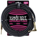 Ernie Ball 6081 Jack/Jack 300cm Black