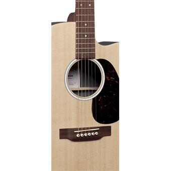 Martin DC-X2E Macassar acoustic-electric cutaway dreadnought guitar