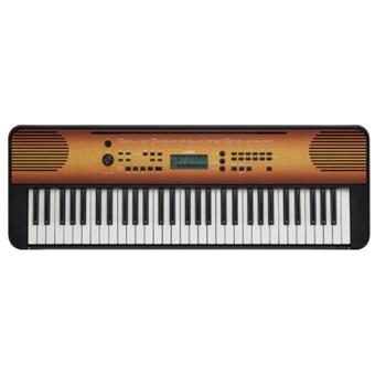 Yamaha PSR-E360 Mahogany Wood home keyboard