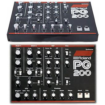 Roland JX-3P + PG200 (vintage) modelling synthesizer