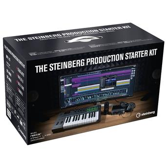 Steinberg Music Production Starter Kit Limited sequencing software/virtual studio