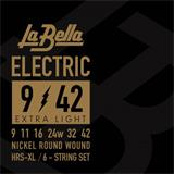 Labella EL XL 09-042 - Electric Guitar Strings - Extra Light 09-42
