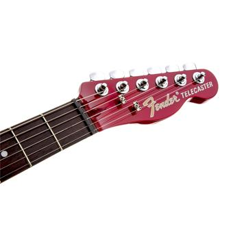 Fender Jim Adkins JA-90 Telecaster® Thinline, Laurel Fingerboard, Crimson Red elektrische gitaar