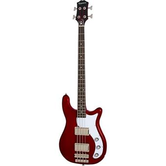 Epiphone Embassy Bass Sparkling Burgundy 4 string bass guitar