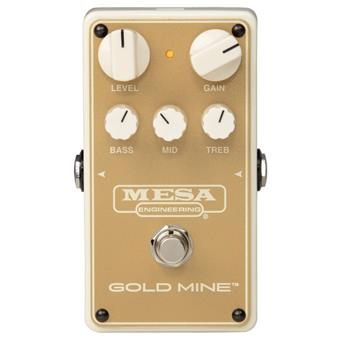 Mesa Boogie Gold Mine - California High Gain Pedal overdrive pedal
