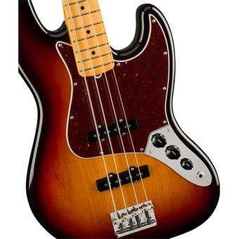 Fender American Professional II Jazz Bass 3-Color Sunburst 4-snarige basgitaar