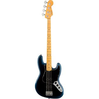 Fender American Professional II Jazz Bass Dark Night 4-snarige basgitaar