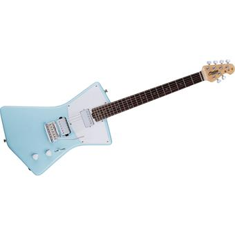 Sterling St. Vincent Daphne Blue alternative design guitar