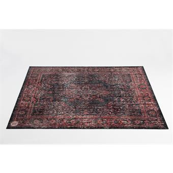 Drum'n Base Vintage Persian Drum Mat VP185 Black Red drum rug