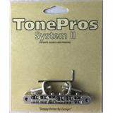 Tone Pros AVR2P - TonePros Replacement ABR-1 Tuneomatic (notched saddles)