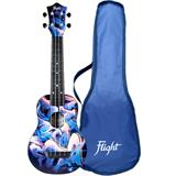 Flight TUS40 ABS Travel Ukulele Graffiti