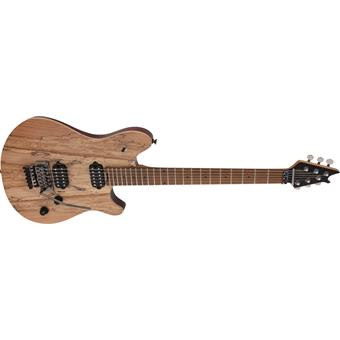 EVH Wolfgang® WG Standard Exotic Spalted Maple, Baked Maple Fingerboard, Natural electric guitar