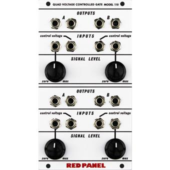 Buchla Red Panel Model 110 Quad Gate Home