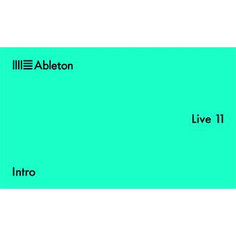 Ableton Live 11 Intro Download sequencing software/virtuele studio