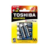 Toshiba AA Battery Value Pack 4+2