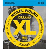 D'Addario EXL125 Super Light Top Regular Bottom