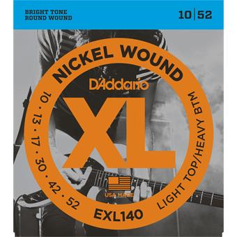 D'Addario EXL140 Light Top Heavy Bottom 010 Saitensatz E-Gitarre