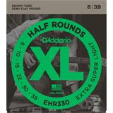 D'Addario EHR330 Half Rounds Extra-Super Light